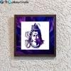 Purple Ganesha Stencil Frame
