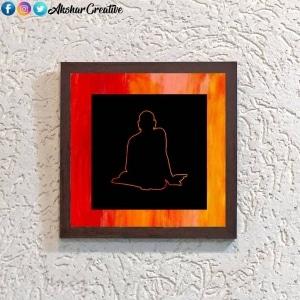 Wonderwheelstore | 25 | Acessf028 Swami Samarth Stencil Frame