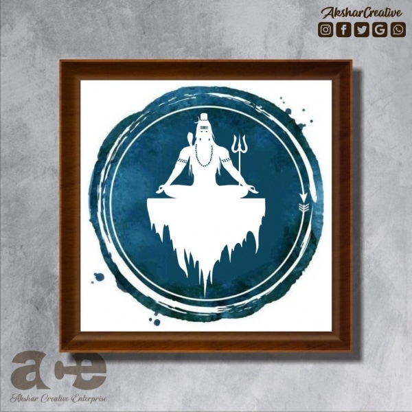 Wonderwheelstore | 25 | Acessf030 Shiva On Ice Stencil Frame