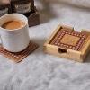 Tea Coasters Pink