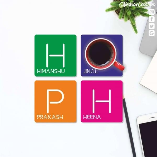 Wonderwheelstore | 27 | Aceco005 Personalised Text Coasters (1)