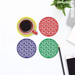 Wonderwheelstore | 27 | Aceco006 Maze Grill Coasters