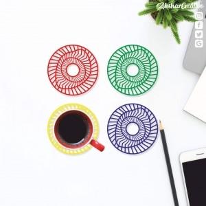 Wonderwheelstore | 27 | Aceco008 Illusion Round Coasters