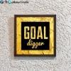 Wonderwheelstore | 28 | Aceqmsf012 Goal Digger Stencil Frame