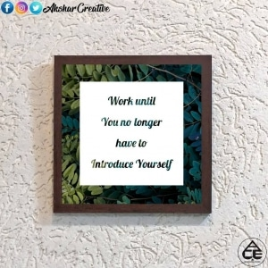 Wonderwheelstore | 28 | Aceqmsf017 Introduce Yourself Stencil Frame