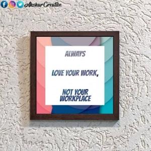 Wonderwheelstore | 28 | Aceqmsf018 Love Your Work Stencil Frame