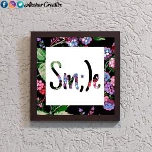Wonderwheelstore | 28 | Aceqmsf027 Smile Stencil Frame