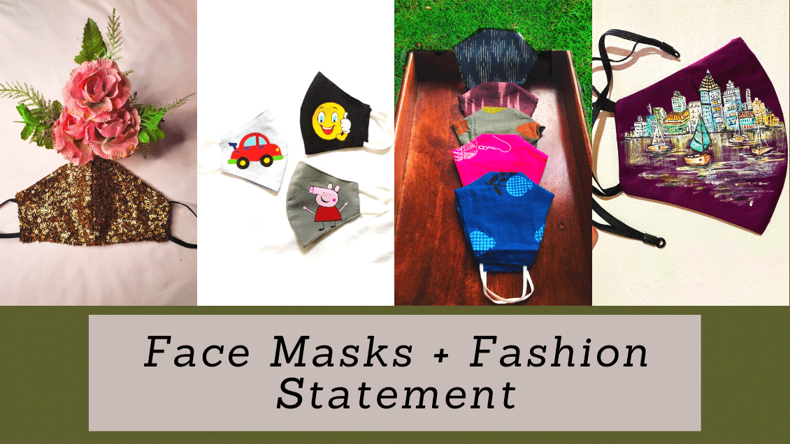 Make a Fashion Statement with these Face Masks