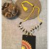 Neckpiece With Jute – Kaudi Pendant