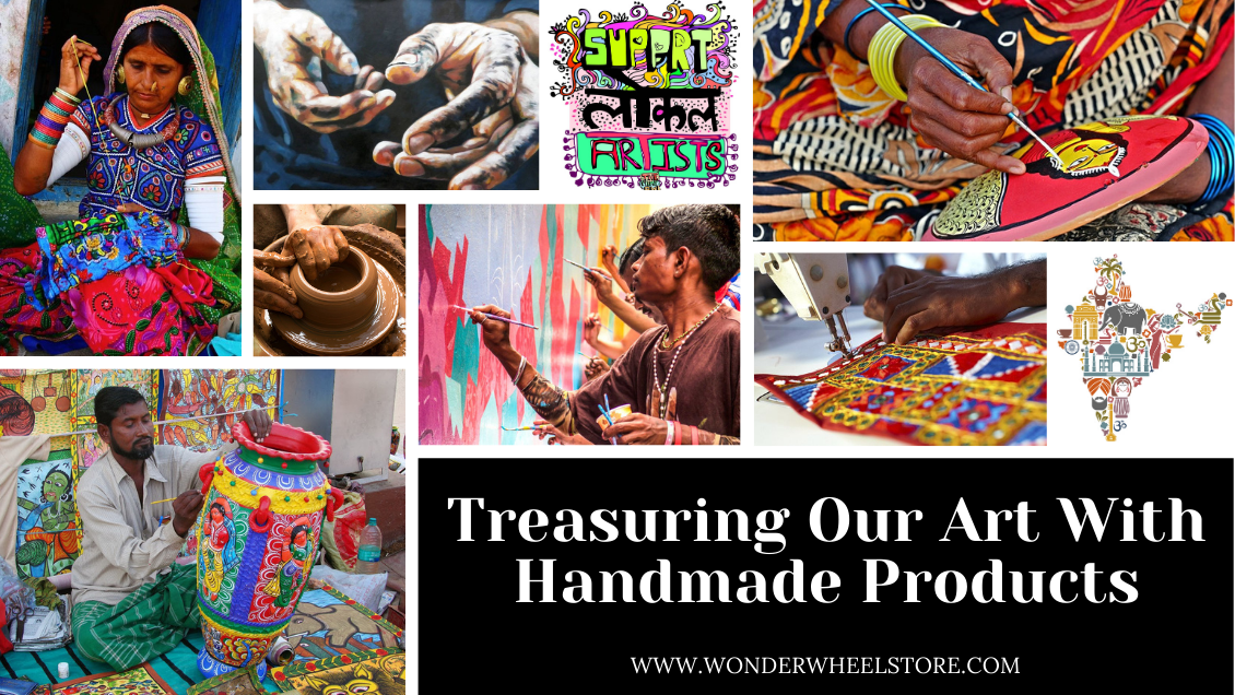 Treasuring Our Art With Handmade Products
