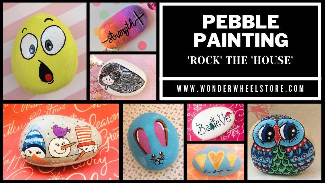 Pebble Painting- 'Rock' the 'House'