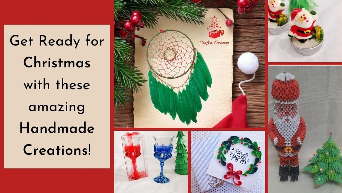 Get Ready for Christmas with these amazing Handmade Creations!