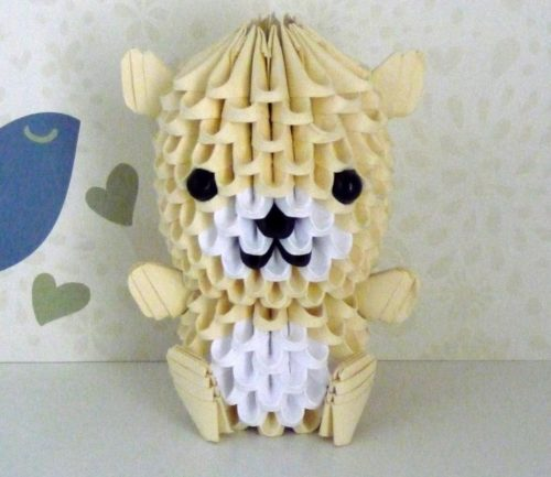 Wonderwheelstore 15 3d Origami Bear By Xxmystic Heartxx D5sm0ue Fullview 1