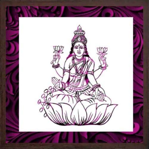 Wonderwheelstore 07 Wonderwheelstore 25 Acessf016 Lakshmi Devi Stencil Frame