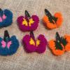Crochet handmade Hair Clips ( Combo Offer – Set of 4 Sizes)