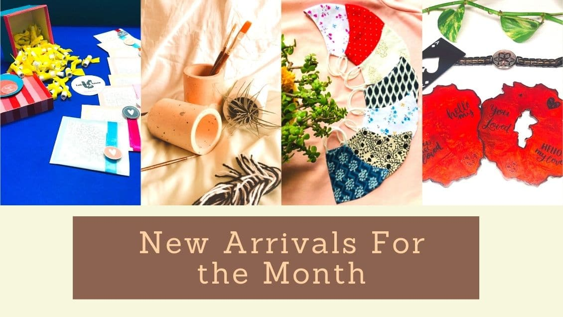 New Arrivals For the Month!