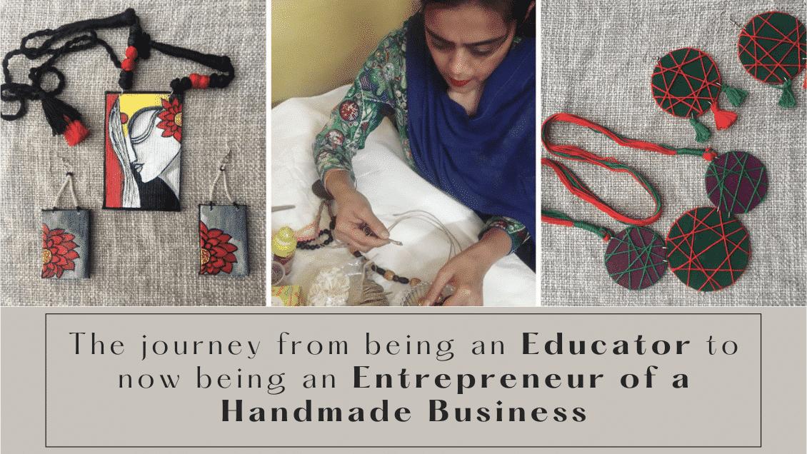 Educator to Entrepreneur: An Artist's journey