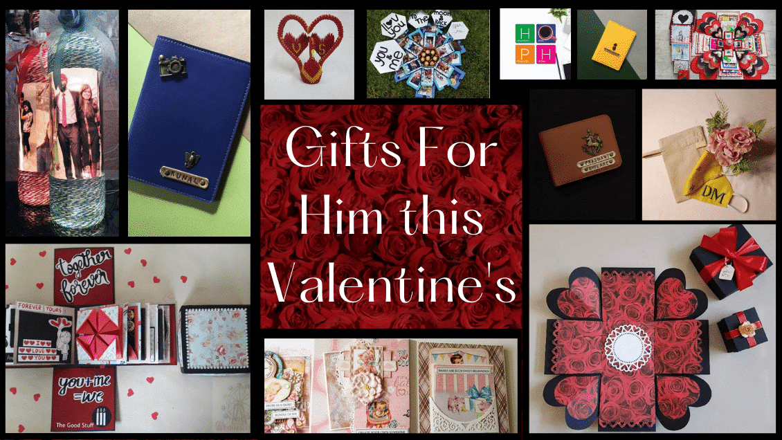 Gifts For Him this Valentine's